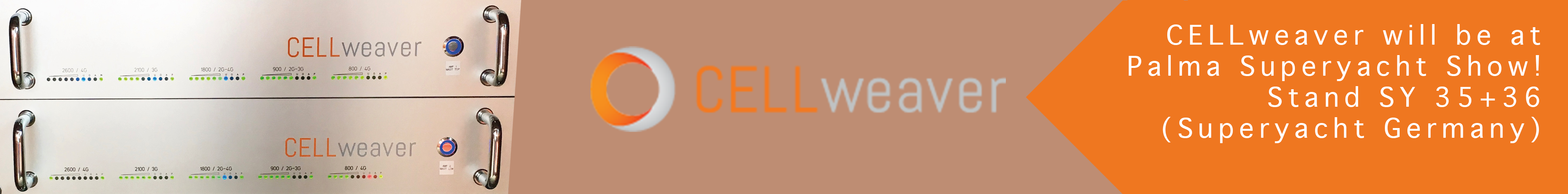 CELLweaver at Palma Superyacht Show 2018